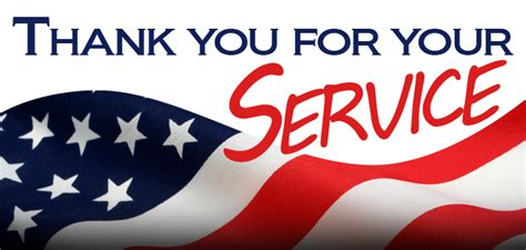 thank you for your service silvertowne veterans day