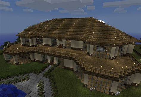 big minecraft house big house minecraft mansion blueprints download and map