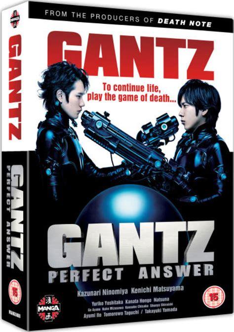 gantz collection gantz gantz answer dvd zavvi