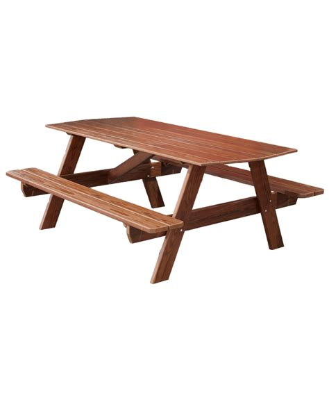 6 foot picnic table amish direct furniture