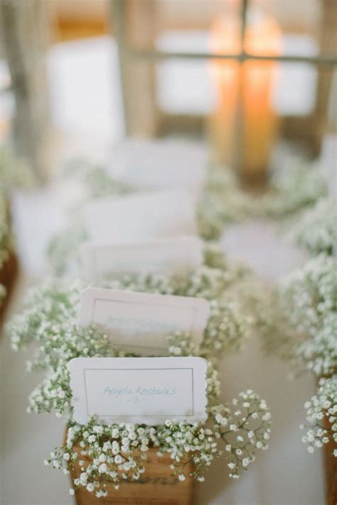 babys breath wedding ideas  rustic weddings deer