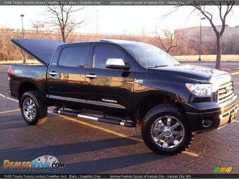 2008 toyota tundra 4x4 2008 toyota tundra limited crewmax 4x4 black graphite