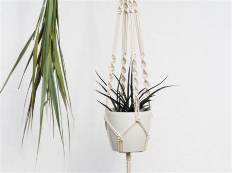 How To Make Macrame Plant Hangers - macrame wall hangings plant hangers buy or diy