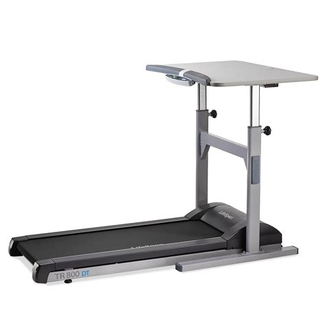 Small Treadmill Desk Tr800 Dt5 Treadmill Desk Workplace Partners