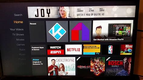 amazon home launch kodi from amazon home screen amazon fire tv stick