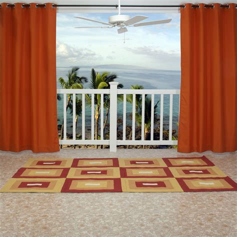 orange outdoor curtains outdoor curtain outdoor curtain with how to make an