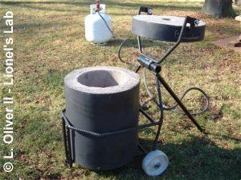 backyard steel furnaces backyard foundry for the do it yourself smelter i am