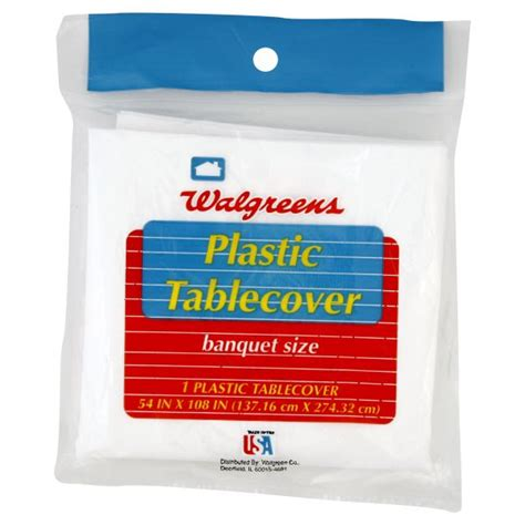 Walgreens Gift Card Return Policy - tablemate walgreens plastic tablecover banquet size 1 tablecover office supplies