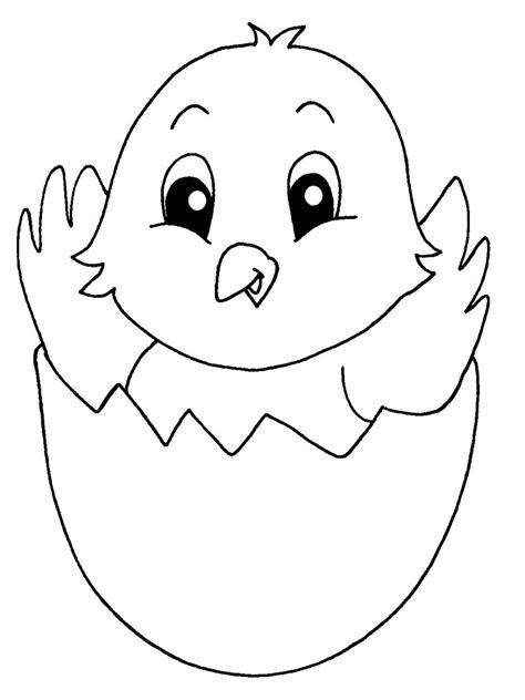 coloring page baby chick baby chick coloring pages download and print baby chick