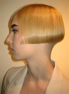 bob haircuts cut into the neck hairxstatic angled bobs gallery 7 of 8