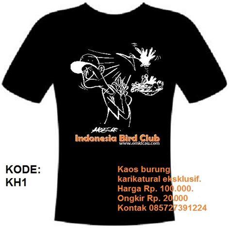 desain kaos burung desain quot revolusi kaos burung quot dari indonesia bird club