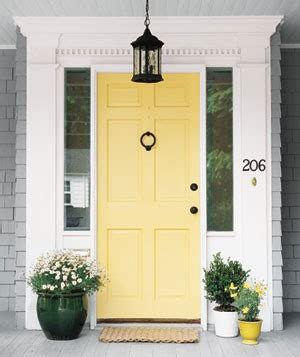 Yellow Front Door Paint Colors Curb Appeal Front Door Inspiration Paint Colors Favorite Paint Colors