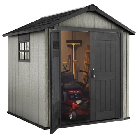 Keter Plastic Sheds Argos by Buy Keter Apex Paintable Plastic Garden Shed 7 5 X 7ft