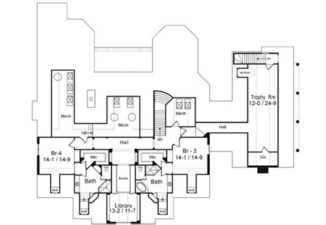 pool house floor plans with bathroom estate with bonus garden or pool house 26615gg 1st