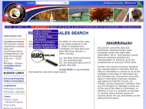 Free Property Search By Address Free Property Tax Records And Offender Searches In Jackson Missouri