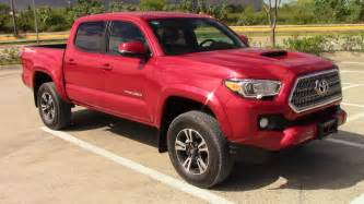 Toyota Mx 2016 Toyota Tacoma Trd Overview Mexico Version