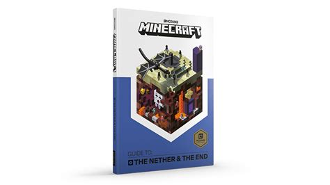 Minecraft Guide To The Nether The End official minecraft books minecraft