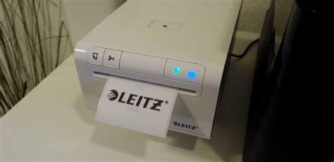 Adressaufkleber Leitz by Test Leitz Icon Der Smarte Etikettendrucker Stereopoly