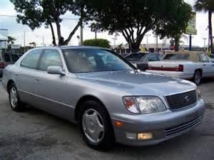 2000 Lexus Ls430 For Sale 2000 Lexus Ls 400 847 N Ave Fort Lauderdale Fl