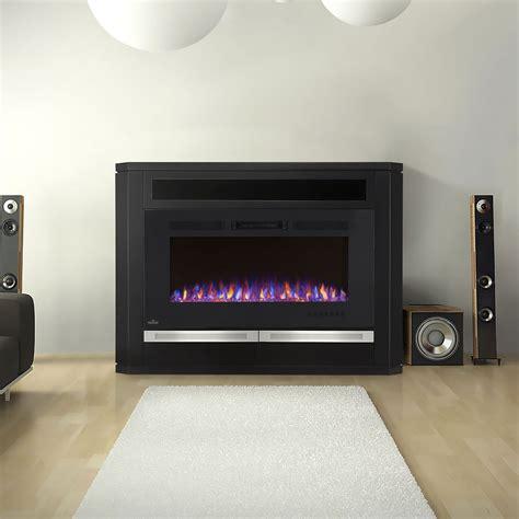 black electric fireplace media console alanis electric fireplace media console in black nefp42