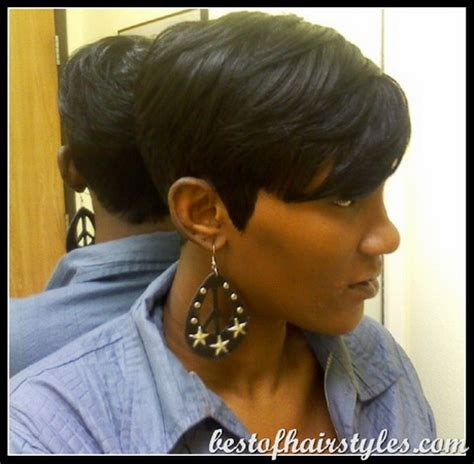 27 piece long on one side 27 piece hairstyles