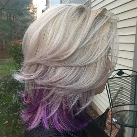Hairstyles Peekaboo Highlights | 20 pretty ideas of peek a boo highlights for any hair color