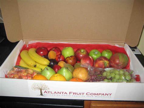 fruit delivery atlanta atlanta fruit company fruit delivery service review