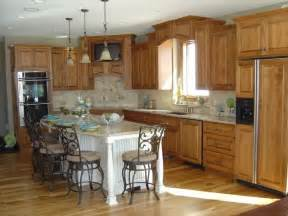 Kitchen Cabinets And Flooring Combinations Hickory Floors For The Home