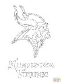 printable coloring pages vikings minnesota vikings logo coloring page free printable
