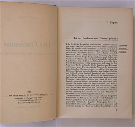 book layout chapter headings felix books silone der fascismus wiedler ch