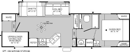 fleetwood wilderness floor plans 2004 fleetwood wilderness fifth wheel rvweb com
