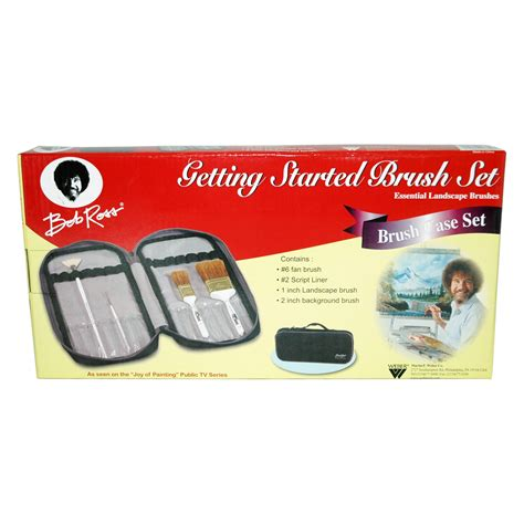 bob ross paint set for sale bob ross essential brush set painting supplies at hayneedle