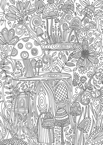 calming coloring book and filled pages for dong engagement relaxation and satisfaction gift for volume 1 books toadstools cc820 by coloring calypso