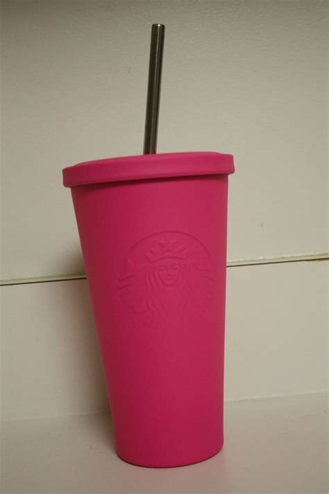 Starbucks Tumbler Stainless Steel Pink Cold Cup Summer Edition 2017 new 2015 starbucks 16oz matte pink stainless steel cold cup logo tumbler coffee starbucks