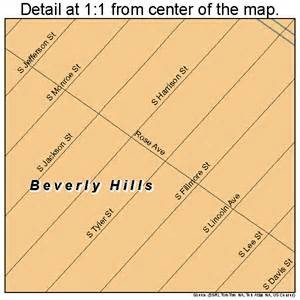 Beverly Hills Florida Map by Beverly Hills Florida Street Map 1206125