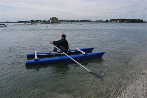 sculling boat rowing sculling catamarans with sliding riggers by virus