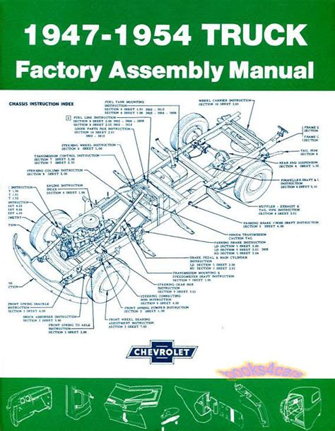 service manual books about how cars work 1954 chevrolet corvette electronic valve timing chevy truck assembly manual gmc book restoration pickup to restore factory 47 54 ebay