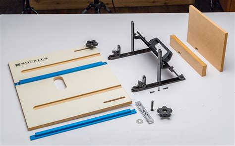 rockler introduces router table jig  heavy duty box
