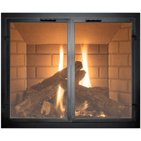 How To Use A Fireplace With Glass Doors by 25 Best Ideas About Fireplace Doors On