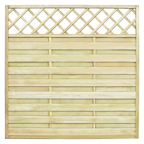 Vidaxl Co Uk Square Garden Fence Panel With Trellis 180