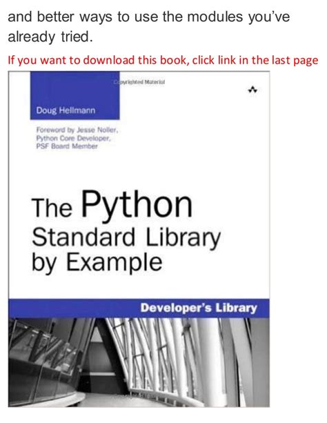 python pattern matching library the python standard library by exle 1st edition pdf