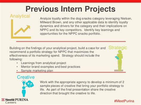 Purina Mba Marketing Internship by Nestl 233 Purina Marketing Internship 2015