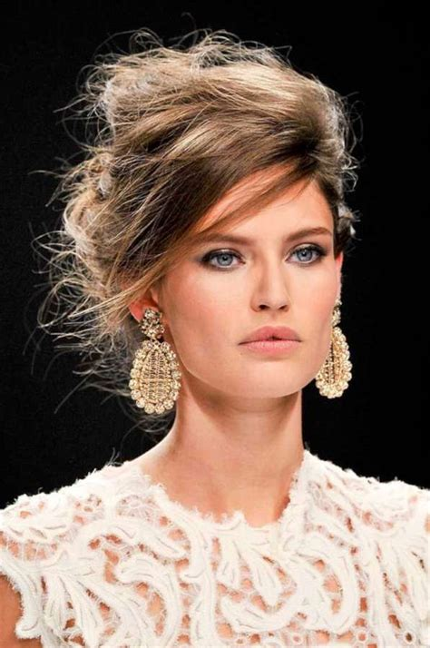fashion forward hair up do messy updo hairstyles 2015 fashion and women