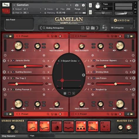 gamelan layout review gamelan virtual instrument by sle logic