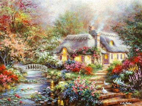 cottage websites artist nicky boehme country cottage nicky boehme website
