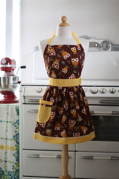 pattern for owl apron 17 best images about aprons patterns on pinterest