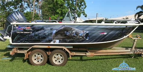 boat wraps darwin home marine graphics ink