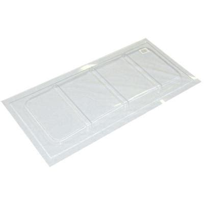 maccourt 35 1 2 in x 16 1 2 in polyethylene rectangular