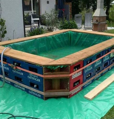 how to make a swimming pool in your backyard looking for an interesting creative or economical way to