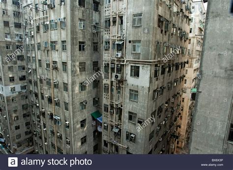 Hong Kong Appartment by Run Concrete High Rise Apartment Buildings In